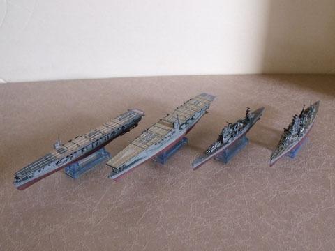 普通の艦船モデルとしても楽しめる