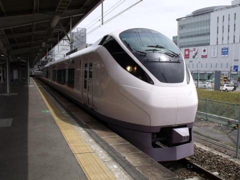 E657系(いわき駅にて撮影)