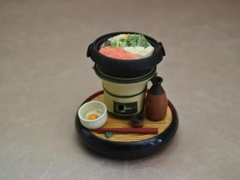 日本の伝統、スキヤキ
