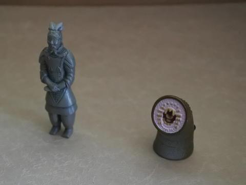 兵馬俑とミツバヤツメ