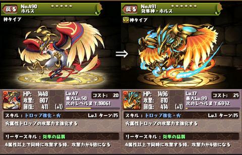 ホルス→炎隼神・ホルス