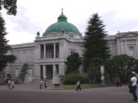 上野の国立博物館に行ってきました(表慶館)