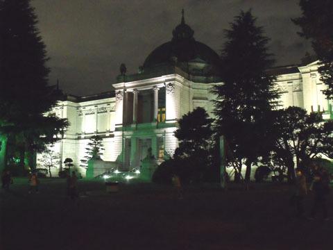 夜景(表慶館)