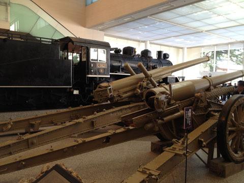 高射砲(これも昨年の写真)