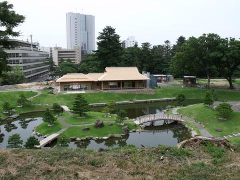 玉泉院跡庭園(整備中)
