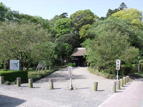 偕楽園入り口(表門)
