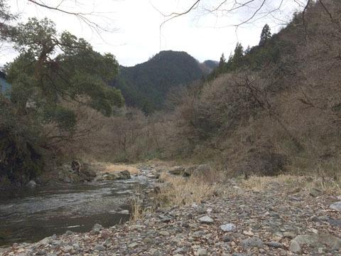 秋川渓谷(払沢の滝のふもと)