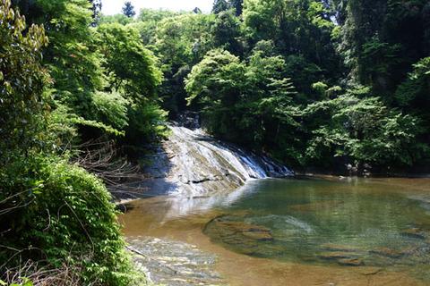 滝を別の角度から撮影