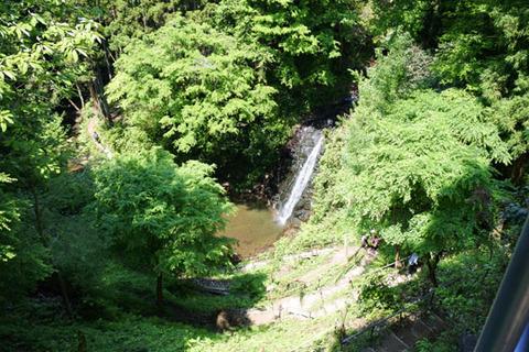 小沢又の滝(幻の滝)見学コース