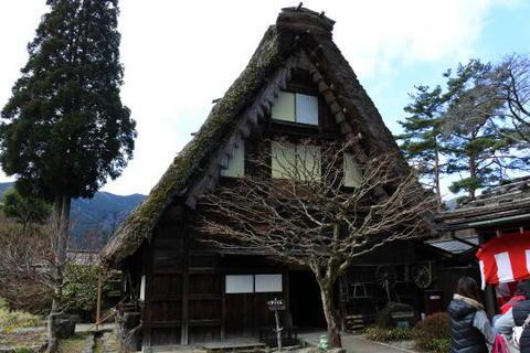民俗資料館となっている旧岩崎家