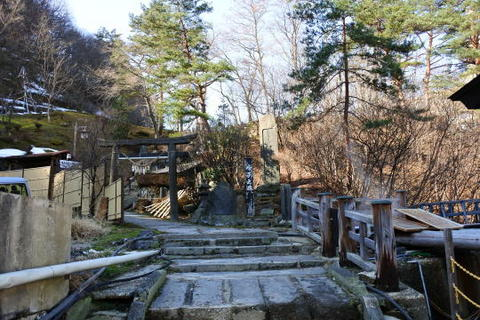 温泉神社 入口