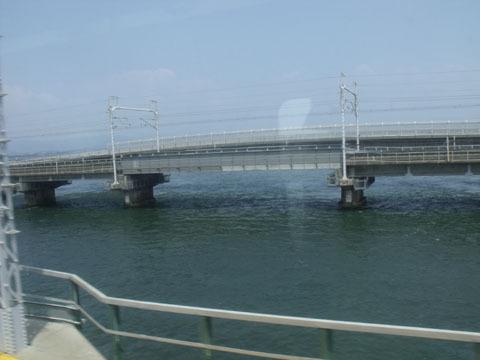浜名湖を通過