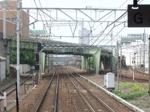 名鉄神宮前駅の手前