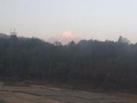 ようやく富士山が見えてきた