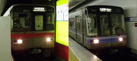 桜通線(赤)・名城線(紫)