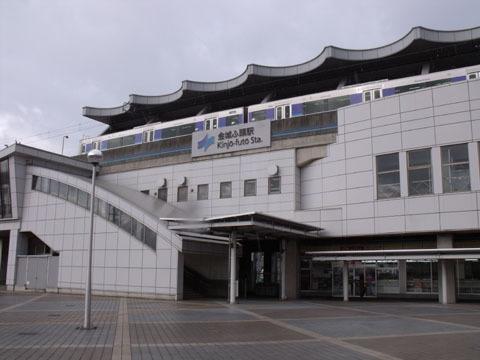 終点の金城ふ頭駅