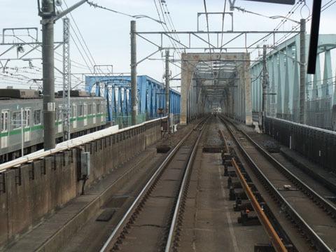 荒川の鉄橋