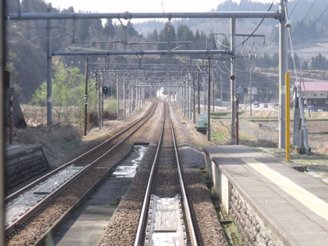 線路規格はまぎれもなく本線級