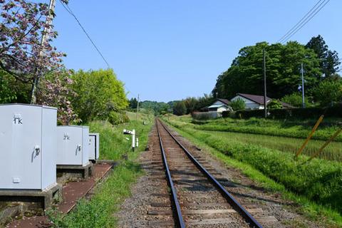 踏切から線路を撮影してみた