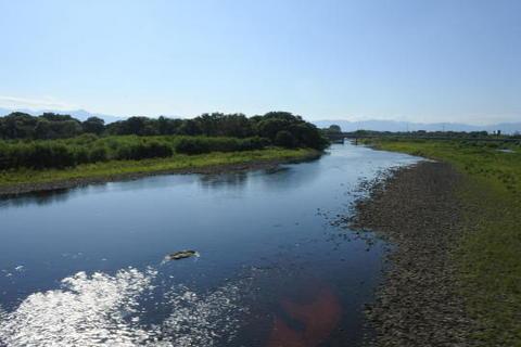 北上川を渡り…