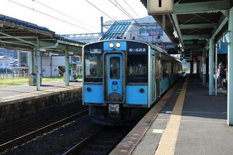 現在の電車は2両編成