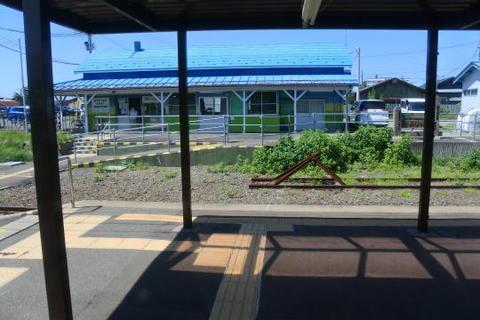 再び陸奥横浜駅