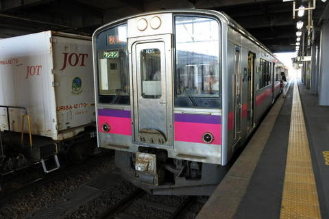 秋田行きも701系