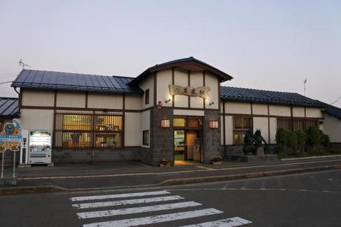 男鹿駅の駅舎
