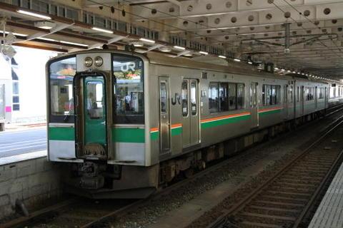 山形行きの普通列車