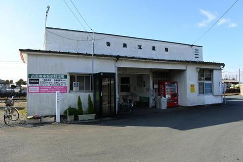 やっぱり昭和の香りがする駅舎