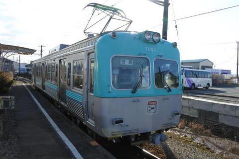 こちらが折り返し吉原行きの電車