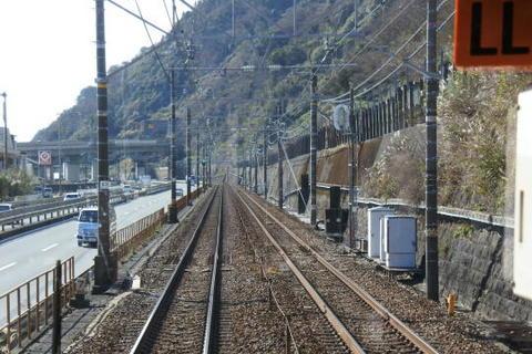 東海道本線・東名高速・国道1号が交差する地点