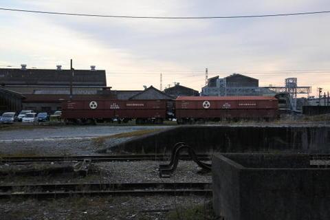 駅構内は貨物列車の施設が主体