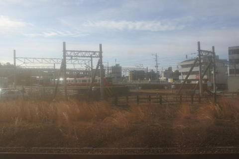 名鉄犬山線の終点、新鵜沼駅