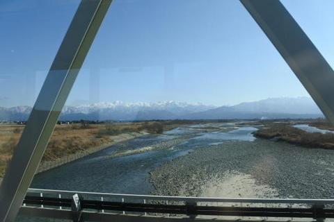 黒部川を通過