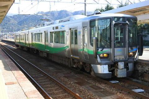 乗車した列車は泊止まり(?)
