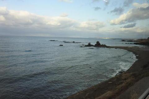 更に日本海沿いを走行