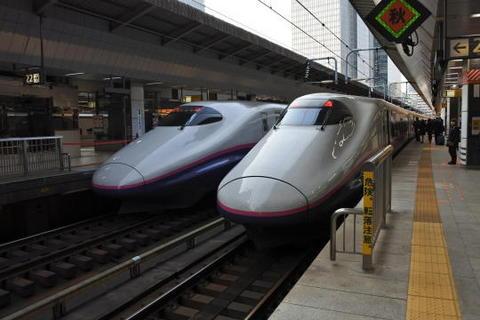 いきなり新幹線に乗車