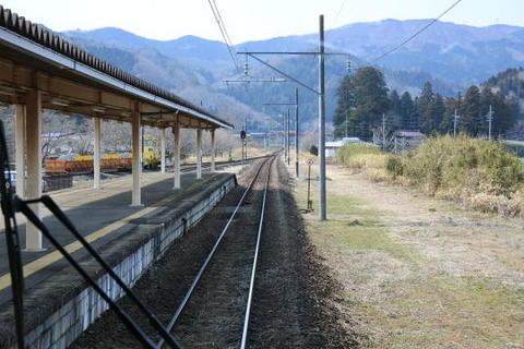 かつての終点、丸森駅