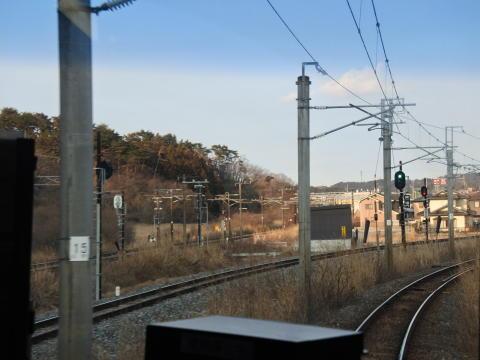 仙石東北ラインのショートカット線付近を通過