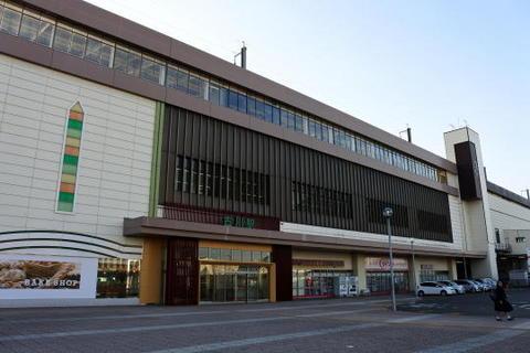 朝の古川駅