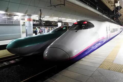 新潟から東京まで2時間半