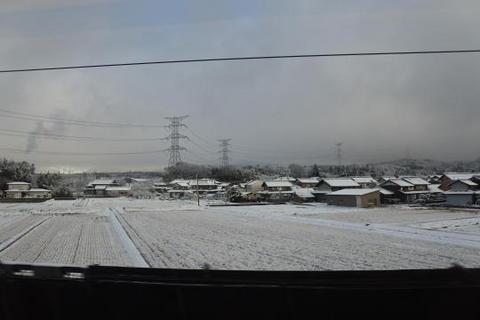 東北新幹線と見間違う光景