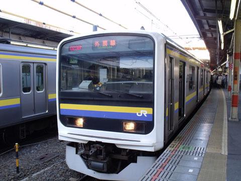 京浜東北線から大移動した209系