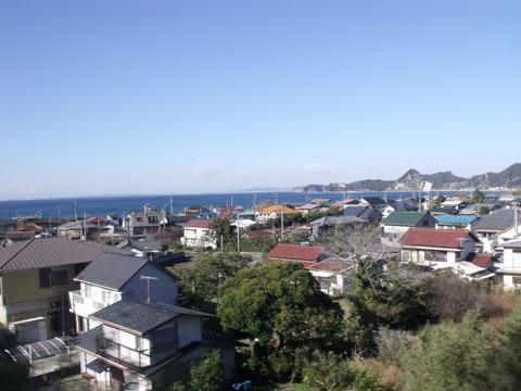 岩井駅付近