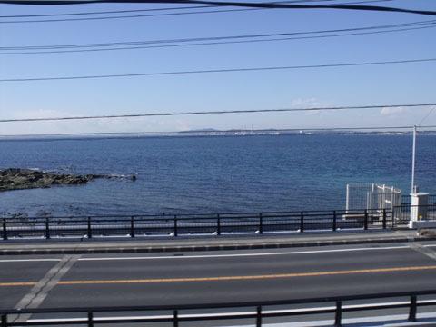 対岸は神奈川県