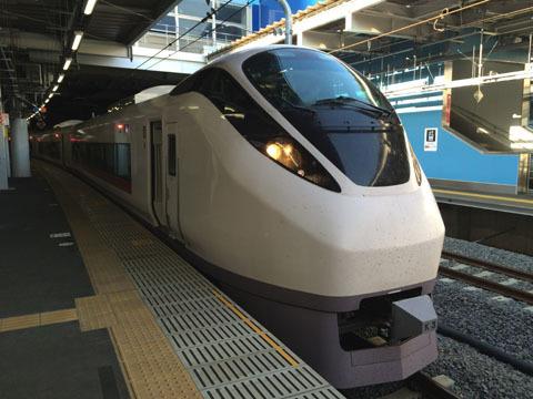 特急ひたち(品川駅にて)