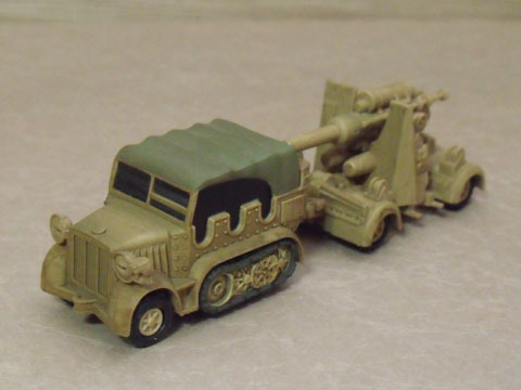 8tハーフトラック&88mm高射砲