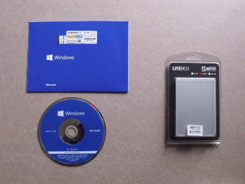 OSとSSDを同時購入