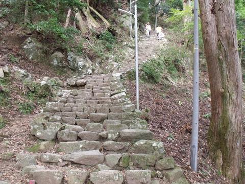 最後の急階段